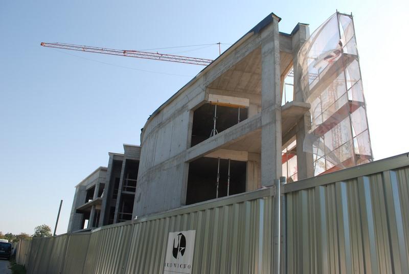 Apartamenty Kameralne Tychy ul. Żorska -zjęcie z budowy 21.09.18