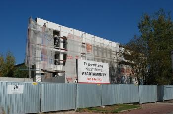Apartamenty Kameralne Tychy ul. Żorska -zdjęcie z budowy 10.10.18