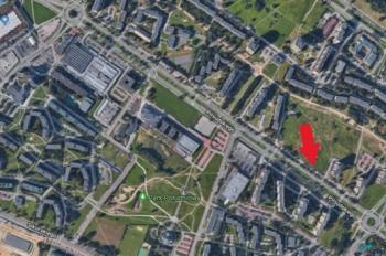 Tychy Piłsudskiego_wycinek mapy