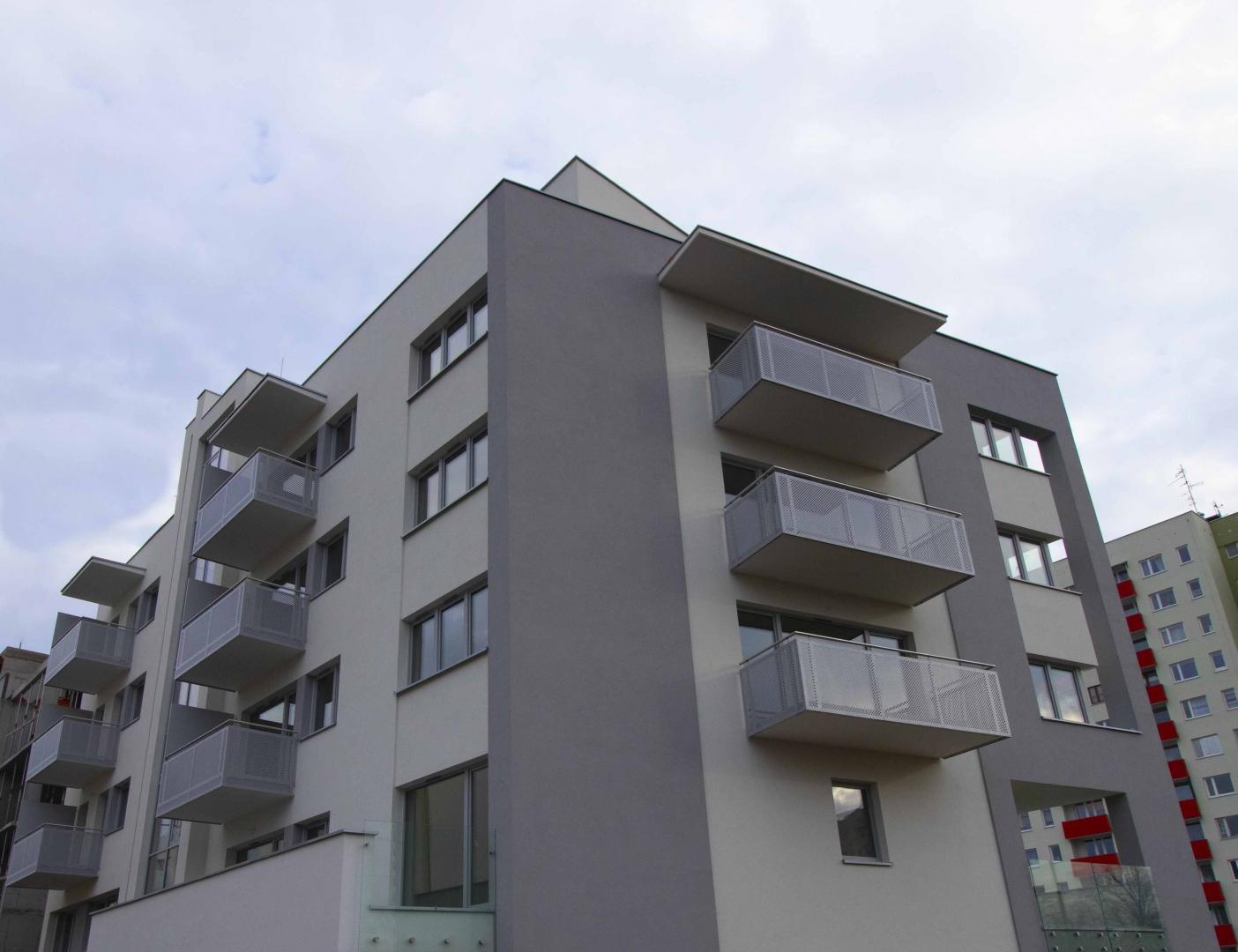 Apartamentowiec A1 Osiedle Panorama -zdjęcie z budowy