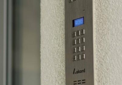 Apartamentowiec A1 Osiedle Panorama wideofony z alfabetem Braila