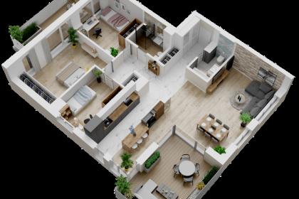 Osiedle Panorama Apartamentowiec A4 - M30 (Kopiowanie)