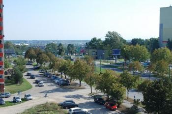 Osiedle Panorama-Apartamentowiec nr 1 - widok z okna - zdjęcie z budowy 21.09.18