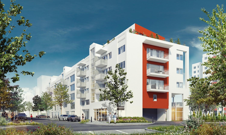 Osiedle Panorama-Apartamentowiec nr 1 -rendering