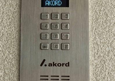 Apartamentowiec A1 wideofon z alfabetem Braila