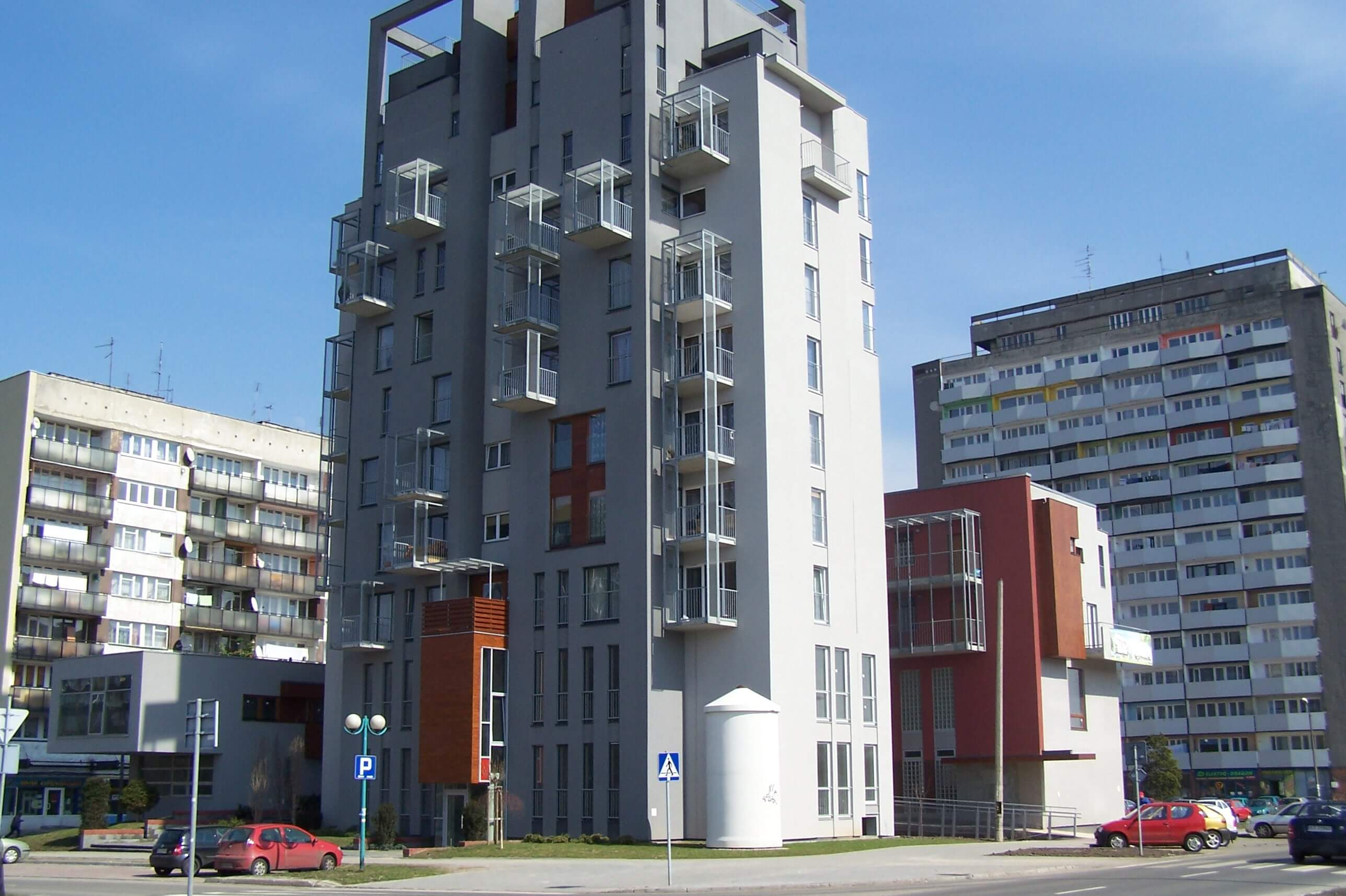 nowe mieszknia Tychy ul. Dąbrowskiego