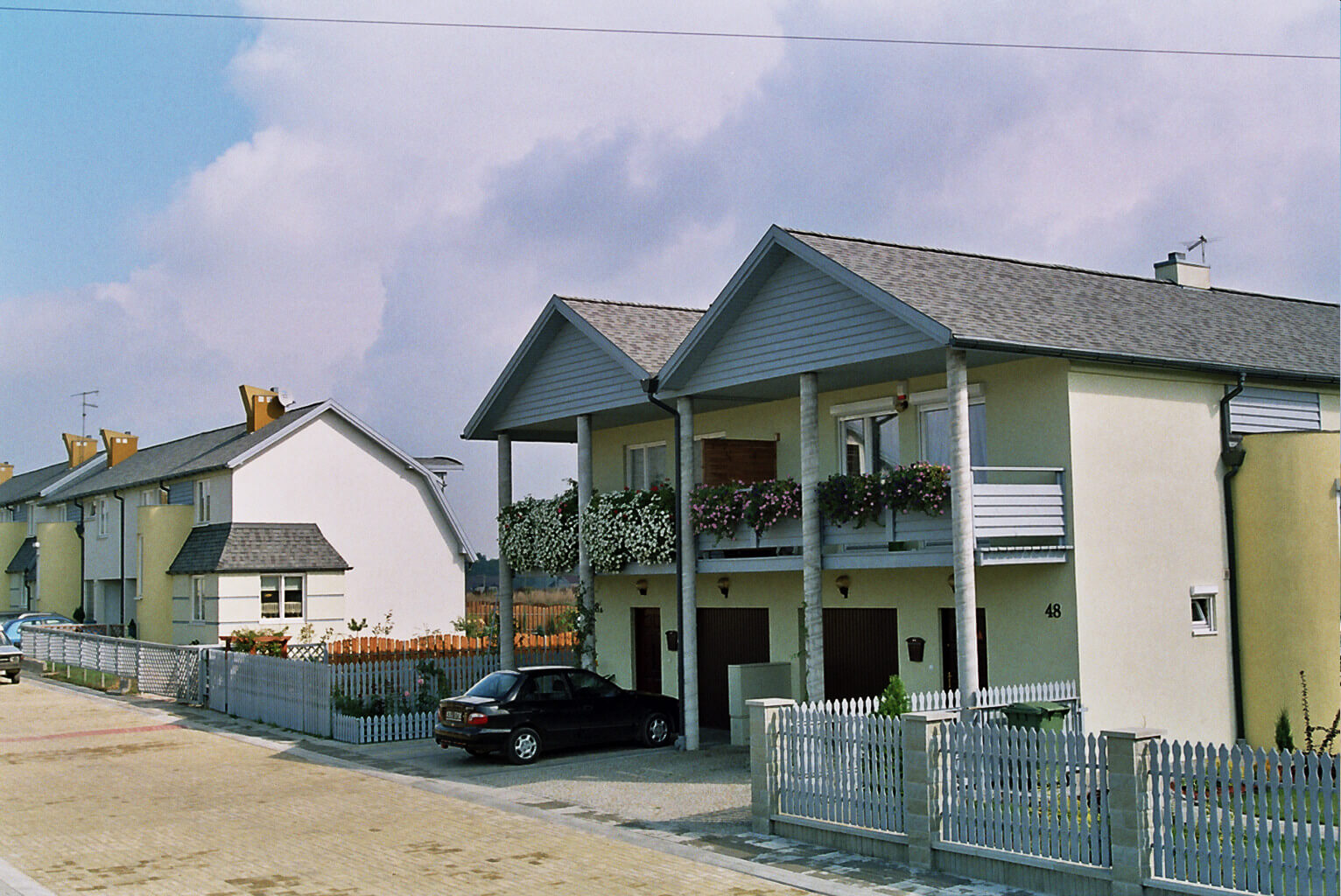 Tychy osiedle domów ul. Jastrzębia (2)