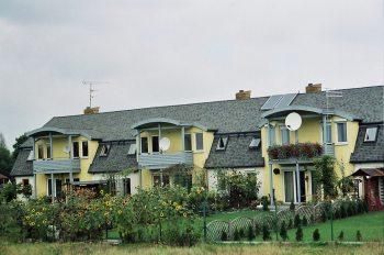 Tychy osiedle domów ul. Jastrzębia