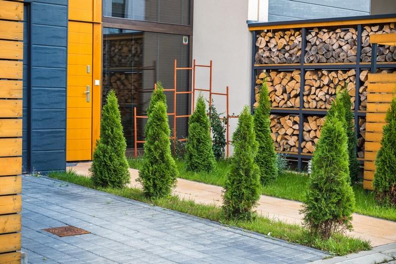 Tychy, ul. Nowa - budynki szeregowe