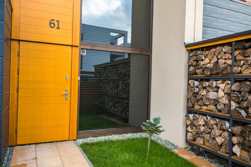 nowoczesny domy w Tychach