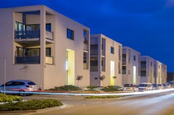Tychy, ul. Nowa - apartamentowce