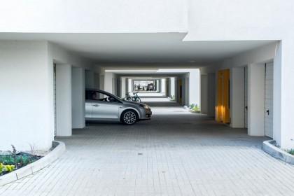 Tychy, ul. Nowa - garaże