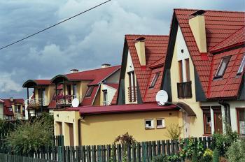 domy w Tychach przy ul. Ziębiej