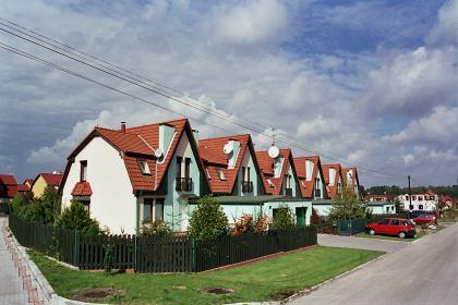 osiedle domów jednorodzinnych Tychy Mąkołowiec