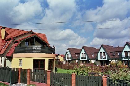osiedle domów jednorodzinnych Mąkołowiec